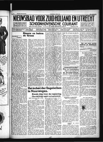 Schoonhovensche Courant 1940-05-08