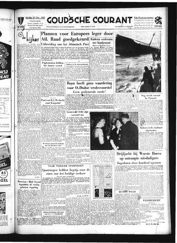 Goudsche Courant 1952-02-23