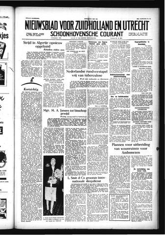Schoonhovensche Courant 1956-05-09