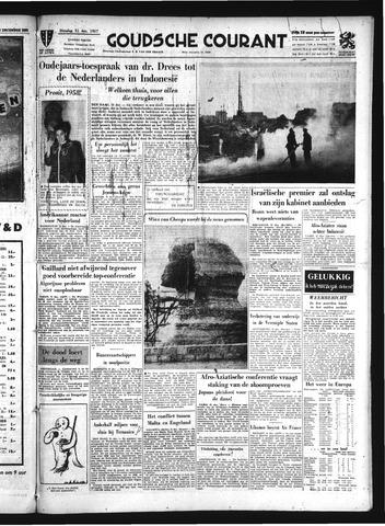 Goudsche Courant 1957-12-31