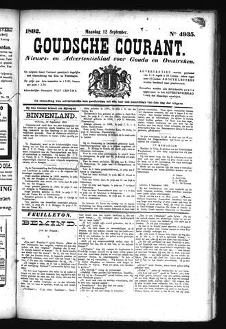 Goudsche Courant 1892-09-12