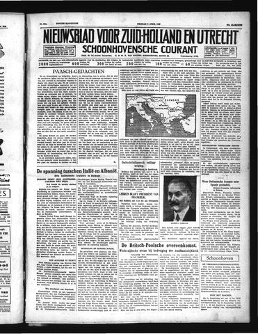 Schoonhovensche Courant 1939-04-07