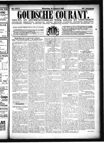 Goudsche Courant 1931-01-12