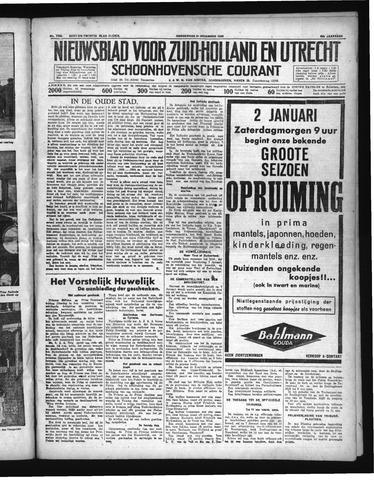 Schoonhovensche Courant 1936-12-31
