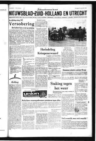 Schoonhovensche Courant 1971-09-22