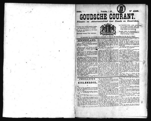 Goudsche Courant 1891-07-01
