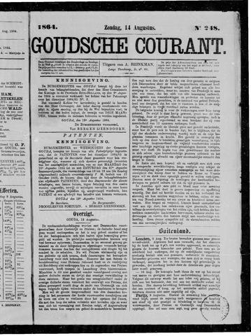 Goudsche Courant 1864-08-14