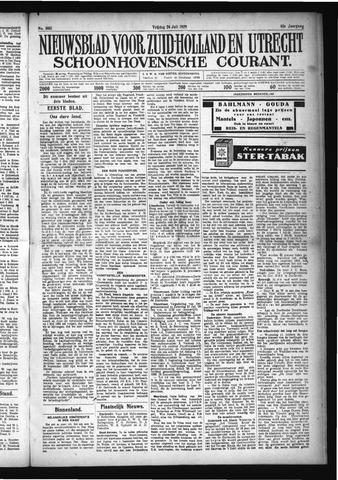 Schoonhovensche Courant 1929-07-26