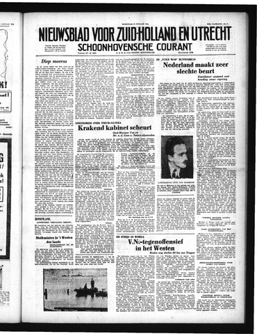Schoonhovensche Courant 1951-01-17