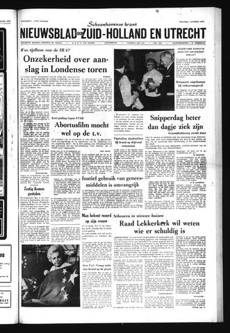 Schoonhovensche Courant 1971-11-01