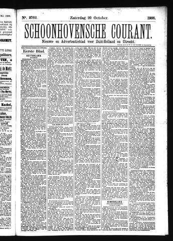 Schoonhovensche Courant 1906-10-20