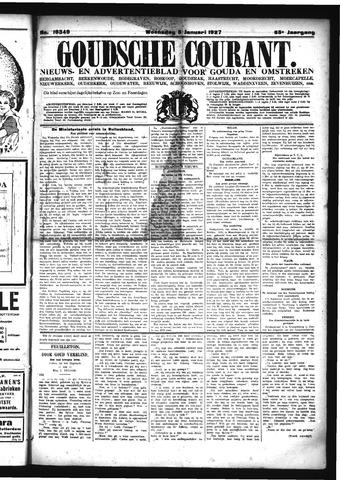 Goudsche Courant 1927-01-05