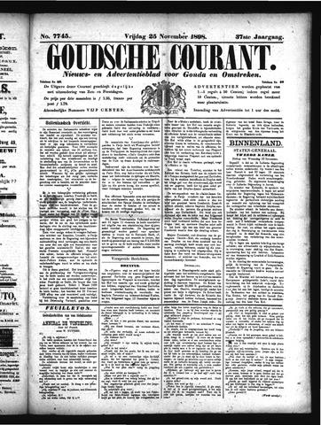 Goudsche Courant 1898-11-25
