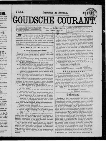 Goudsche Courant 1864-12-29