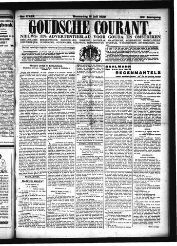 Goudsche Courant 1930-07-16