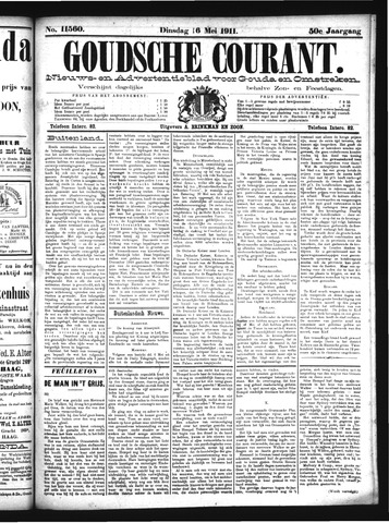 Goudsche Courant 1911-05-16