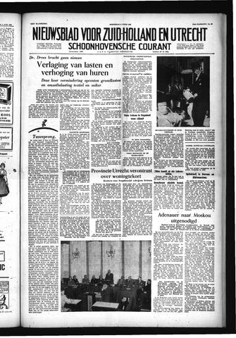 Schoonhovensche Courant 1955-06-08
