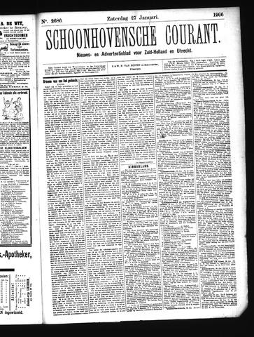 Schoonhovensche Courant 1906-01-27