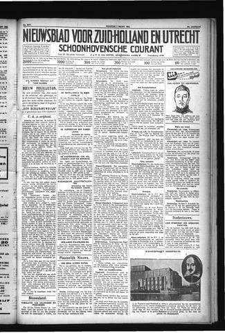 Schoonhovensche Courant 1932-03-07