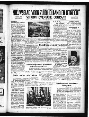 Schoonhovensche Courant 1951-02-12