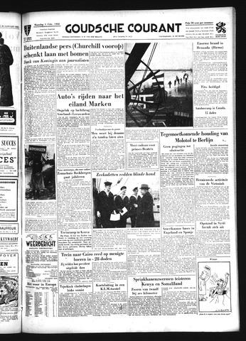 Goudsche Courant 1954-02-01