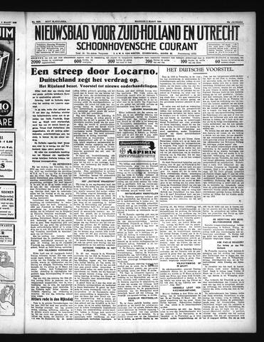 Schoonhovensche Courant 1936-03-09