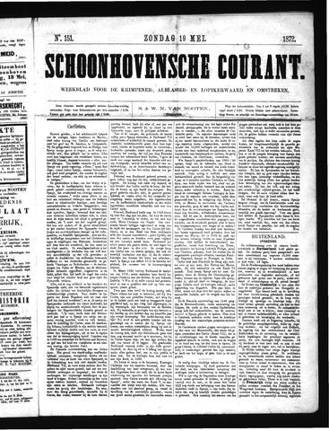 Schoonhovensche Courant 1872-05-19