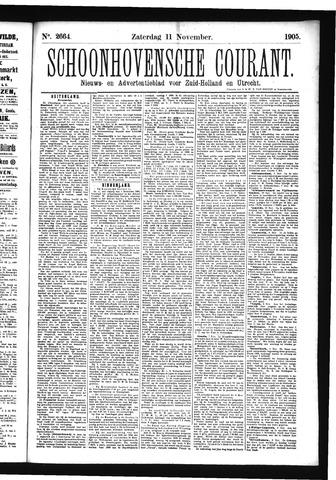 Schoonhovensche Courant 1905-11-11