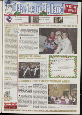 Hart van Holland 2003-12-23