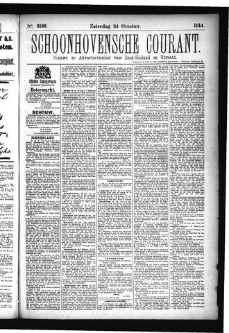 Schoonhovensche Courant 1914-10-24