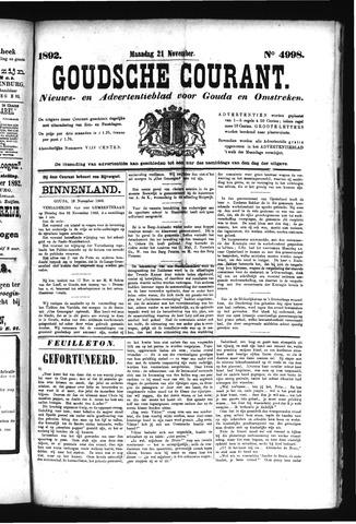Goudsche Courant 1892-11-21