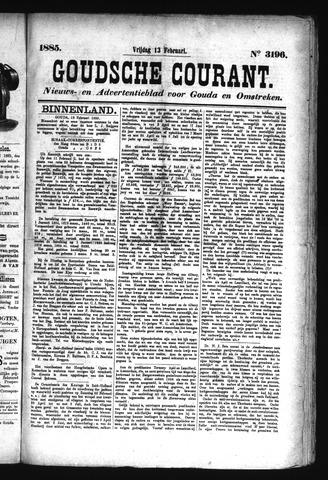 Goudsche Courant 1885-02-13