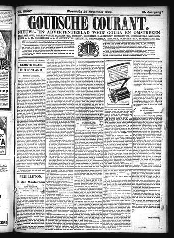 Goudsche Courant 1922-11-29