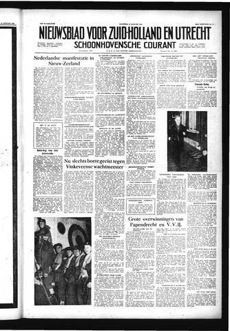 Schoonhovensche Courant 1956-01-16