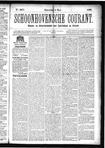 Schoonhovensche Courant 1896-05-09