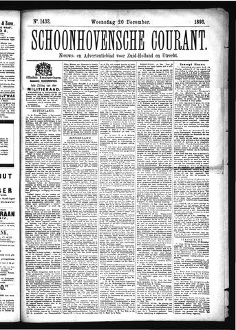 Schoonhovensche Courant 1893-12-20
