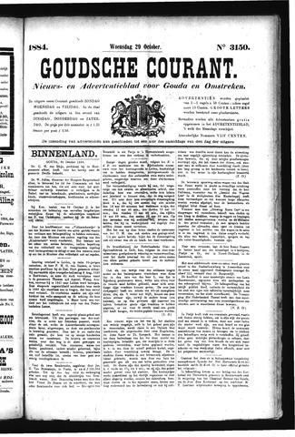 Goudsche Courant 1884-10-29