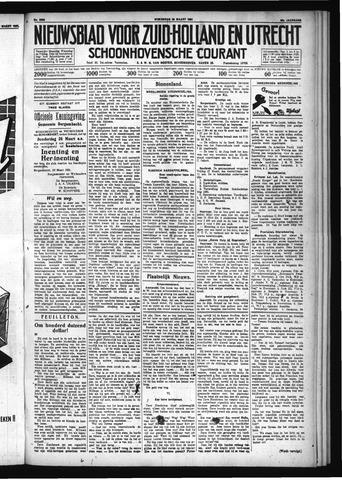 Schoonhovensche Courant 1931-03-25