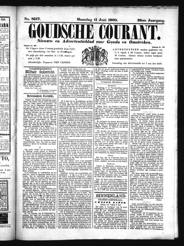 Goudsche Courant 1900-06-11