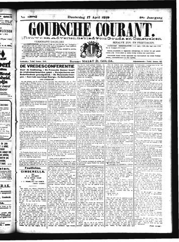 Goudsche Courant 1919-04-17