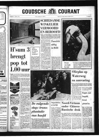 Goudsche Courant 1972-07-07
