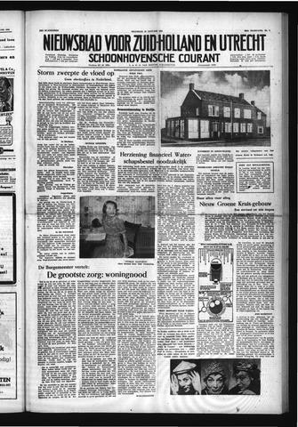 Schoonhovensche Courant 1954-01-18