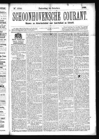 Schoonhovensche Courant 1896-10-24