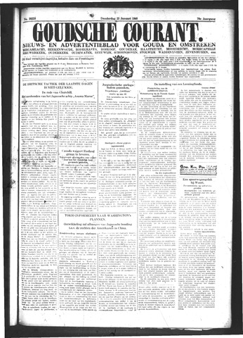 Goudsche Courant 1940-01-25
