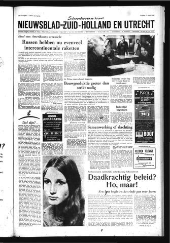 Schoonhovensche Courant 1969-04-11