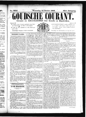 Goudsche Courant 1903-10-14
