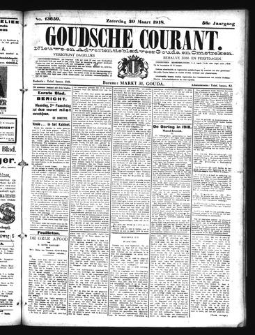 Goudsche Courant 1918-03-30