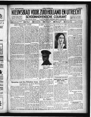 Schoonhovensche Courant 1936-12-04