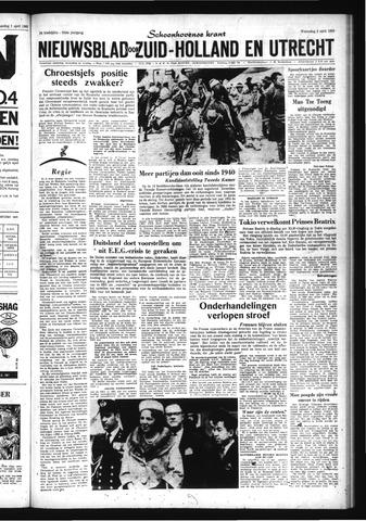 Schoonhovensche Courant 1963-04-03