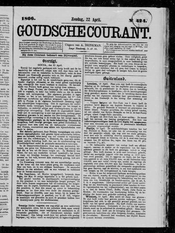 Goudsche Courant 1866-04-22